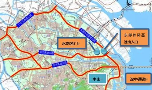 中山东部外环高速最新消息公路资讯