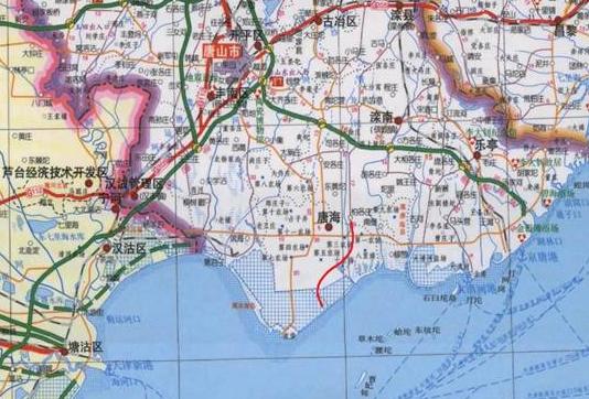 迁曹高速公路最新路线图