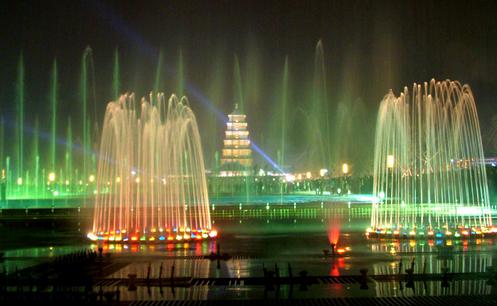 大雁塔音乐喷泉开放时间