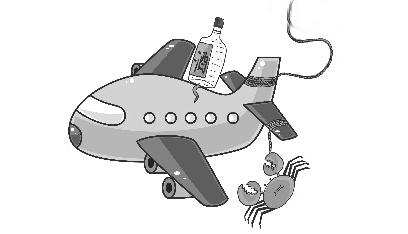 瓶装酒能带上飞机吗