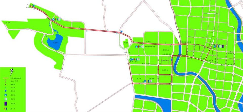 2017年521锦州北镇马拉松线路图图片