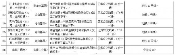 2017南京扫墓专线3