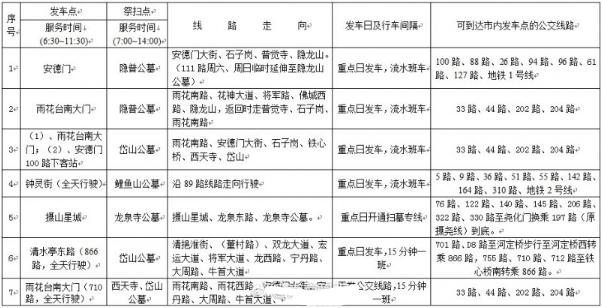 2017南京掃墓專線