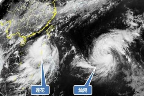 双台风逼近东南沿海