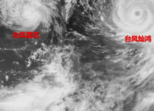 2015年双台风逼近东南沿海一带最新消息