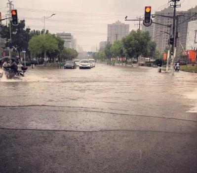 上海暴雨牌照_上海暴雨积水