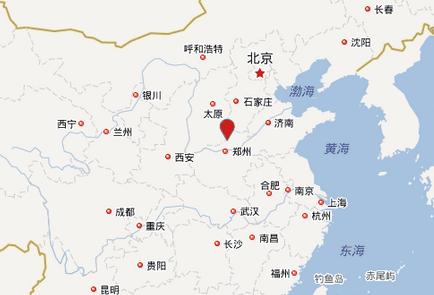 林州是人工天河——红旗渠的故乡