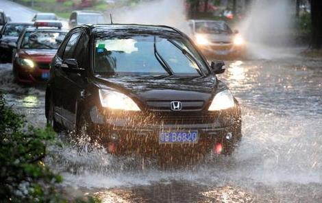 2016年4月13日深圳发布暴雨黄色预警