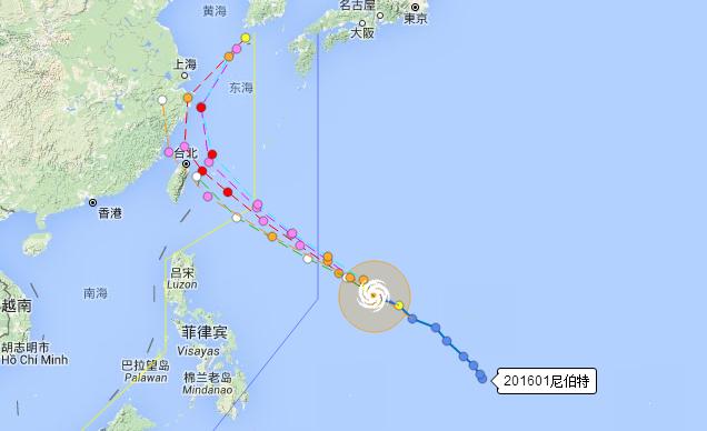 今年有几个台风登陆
