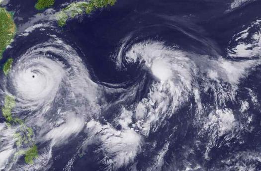 台风警报分为哪3级1