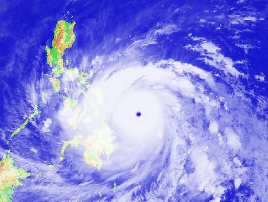 台风警报在几小时前发布1
