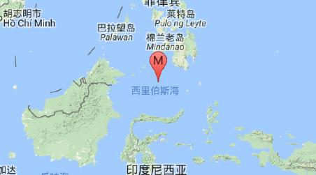 苏拉威西海地震1