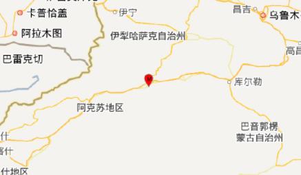 2018年6月7日新疆地震最新消息1