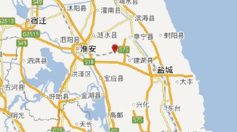 2018年6月12日江苏盐城地震最新消息1