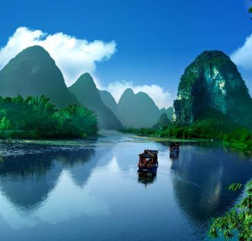 特价桂林、漓江、阳朔、天籁蝴蝶泉、歌仙刘三姐双飞四日游