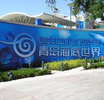潍坊到青岛旅游  青岛海底世界  五四广场  栈桥  海滨  一日游